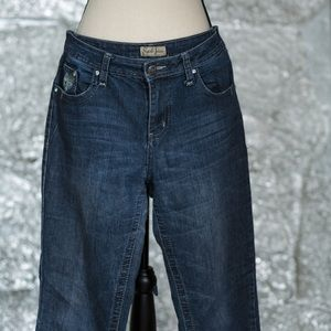 Earl Jean with silver embellishments size 10